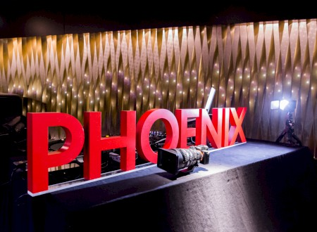 3 - The new logo of Phoenix Design adorns the BIX