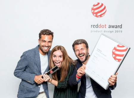 3 – Phoenix Design und Hansgrohe, die Gewinner des Red Dot Award 2019: best of the best