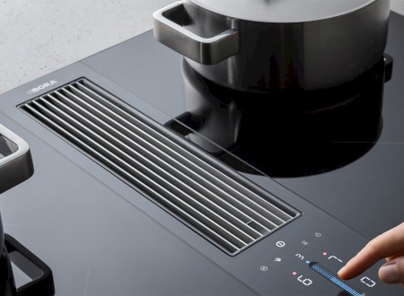 9 – BORA Classic 2.0 Cooktop Extractor, awarded the Red Dot Award 2019: Winner