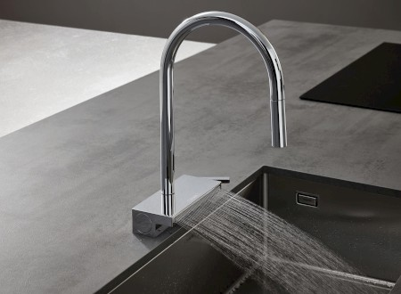 Best of the Best – RED DOT DESIGN AWARD 2020 – hansgrohe Aquno Select M81 – Küchenmischer