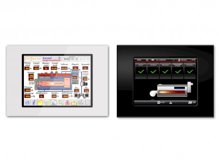 3.) Phoenix Design / Viessmann. Interface Design. Home Automation System. Measuring and control technology - before/after
