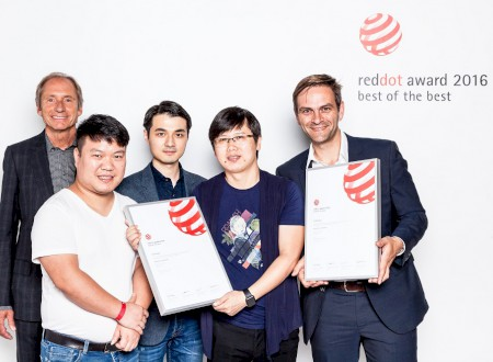Red Dot Award Best of the Best 2016 award winning ceremony, Essen/Germany