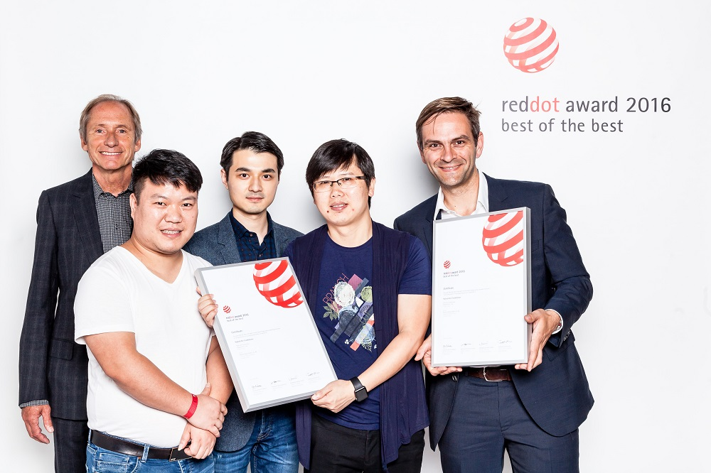 Admirable Best Of The Best Red Dot Award 2016 For Phoenix Design Download Free Architecture Designs Licukmadebymaigaardcom