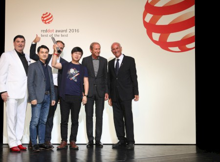 Red Dot Award Best of the Best 2016 award winning ceremony - Essen/Germany