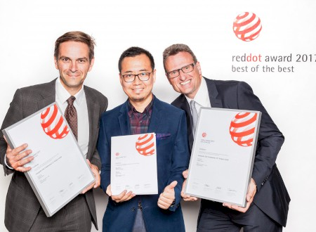 1 - Red Dot Award 2017 award winning ceremony in the Red Dot Design Museum,  Essen/Germany