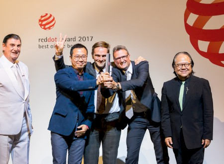 2 - Red Dot Award 2017 award winning ceremony in the Aalto Theater in Essen/Germany
